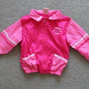 ML Miss Lana Pink Track Windbreaker Jacket 3T